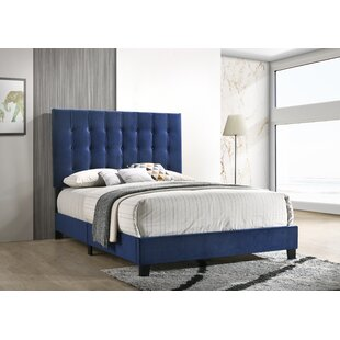 Marnie Upholstered Panel Bed by Mercer41