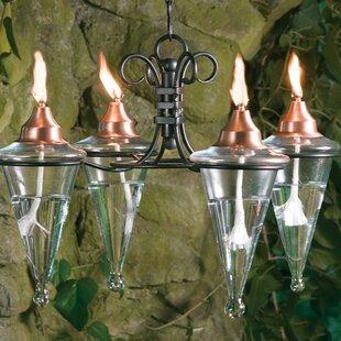 H. Potter 4 Light Hanging torch