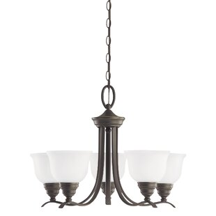 Busti 5-Light Shaded Chandelier by Darby Home Co