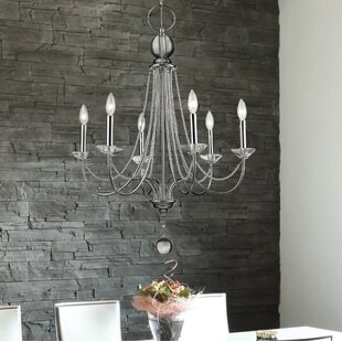 House of Hampton Patrice 6-Light Candle Style Chandelier