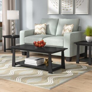 Elianna 3 Piece Coffee Table Set