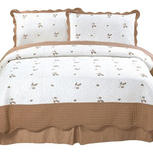 Peyton Embroidered Quilt Set