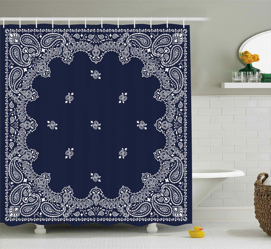 Ethnic Asian Shower Curtain