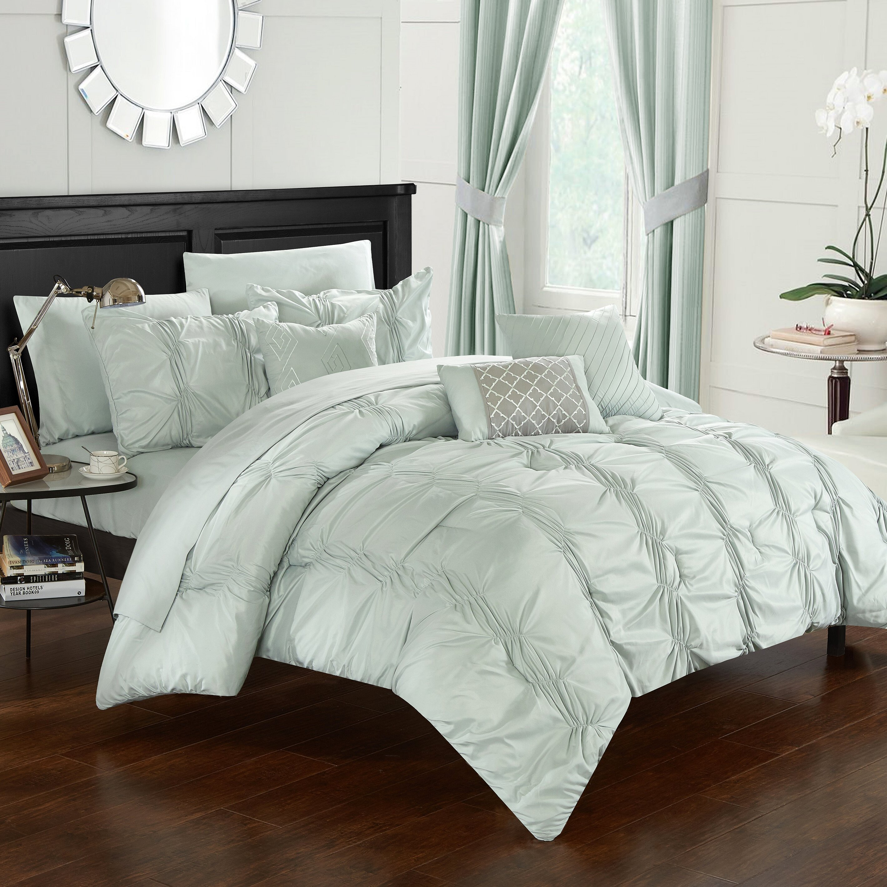 Chic Home 10 Piece Tori Comforter Set U0026 Reviews | Wayfair