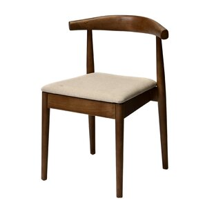 Bernardi Solid Wood Dining Chair George Oliver
