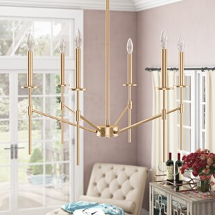 Diamanta 6-Light Candle Style Chandelier