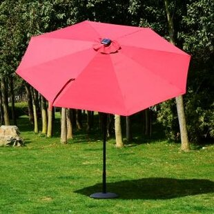 Latitude Run Chagnon 9' Lighted Umbrella