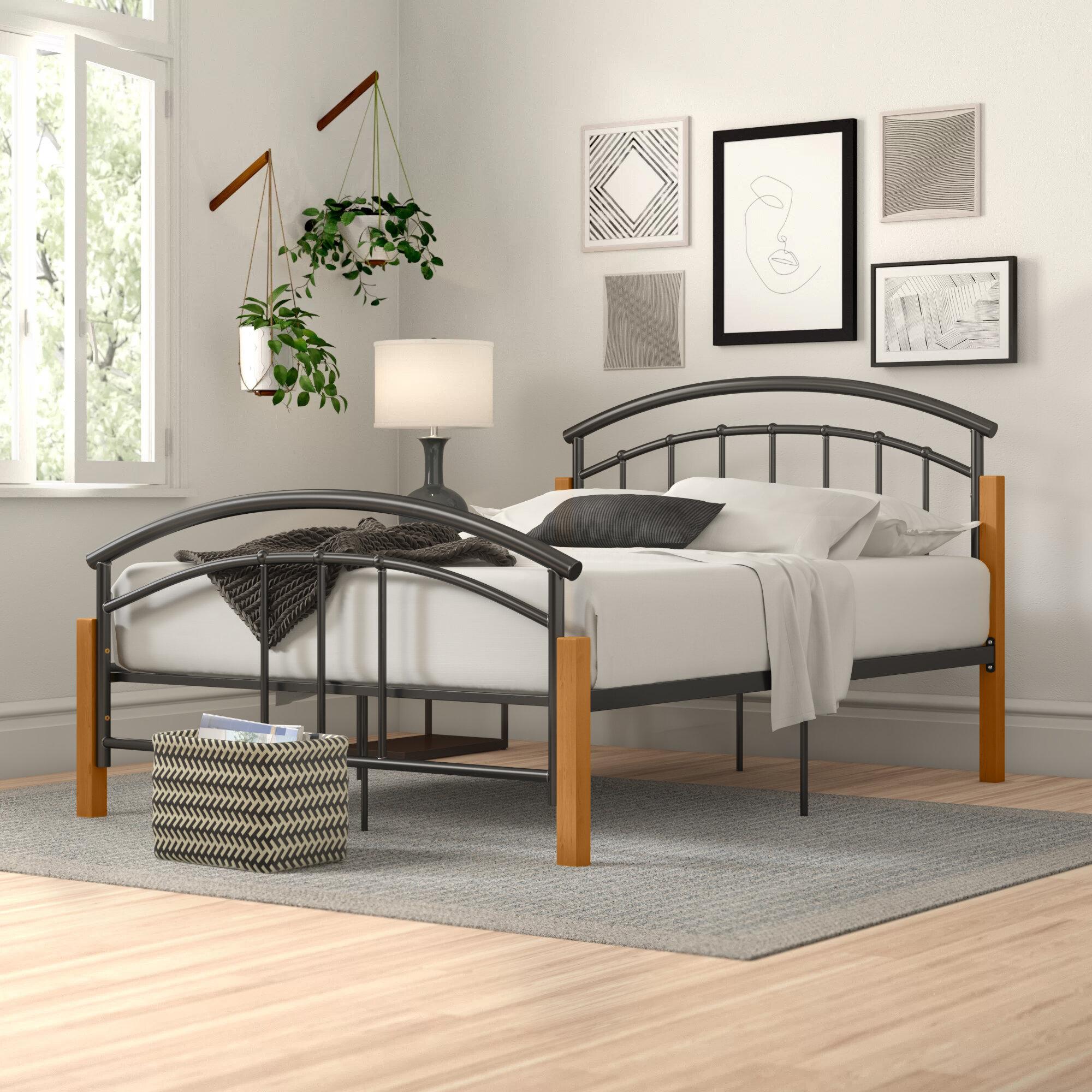 Zipcode Design Malaysia Metal Bed Frame Reviews Wayfair Co Uk