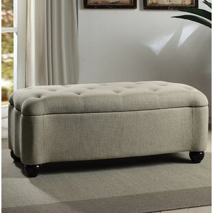 Viviana Tufted Curved Storage Ottoman By Charlton Home