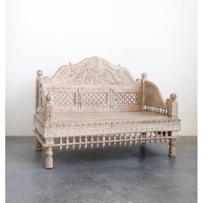 Terrific Kangley Wood Bench Uwap Interior Chair Design Uwaporg