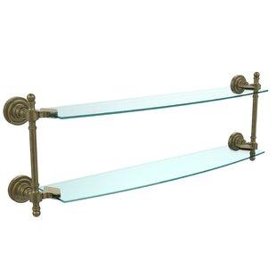 Allied Brass Retro Dot Wall Shelf