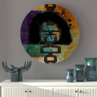 Howard Miller Yvonne Quartz Wall Clock Reviews Wayfair