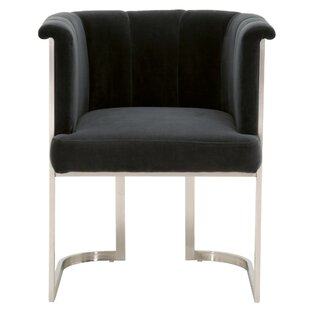 Cheung Velvet Upholstered Dining Chair by Mercer41