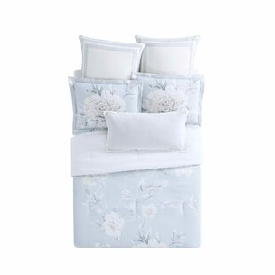 Christian Siriano Stem Floral Reversible Comforter Set