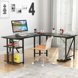 Ormes L-Shaped Computer Desk by Ebern Designs Herry Up