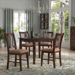 Cobleskill 5 Piece Dining Set by Alcott Hill Today Only Sale