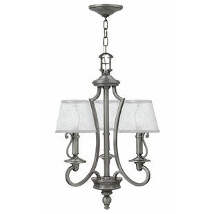 Alcott Hill Kenny 3-Light Shaded Chandelier