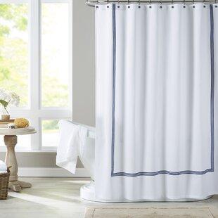 Light Blue Shower Curtain | Wayfair
