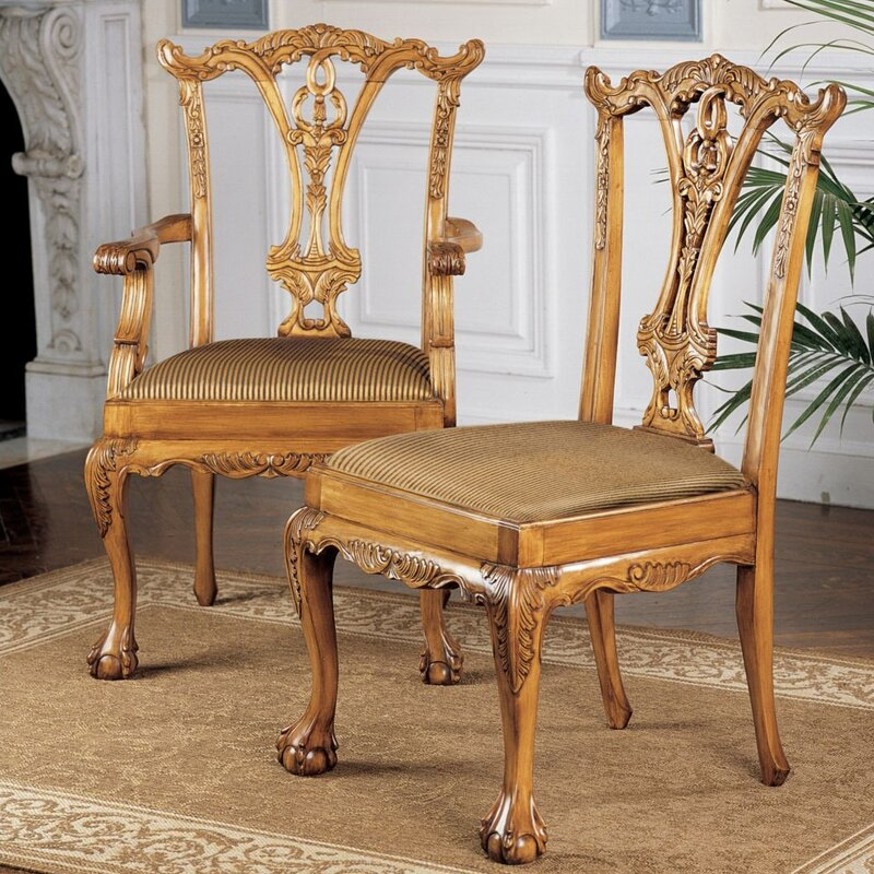 Amazing English Chippendale Dining Chair