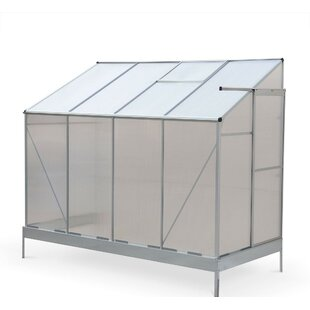 Damiano 4 Ft W X 8.2 Ft D Lean- To Greenhouse By Sol 72 Outdoor