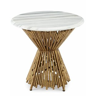 Tobiah Multi Pipes End Table by Bungalow Rose