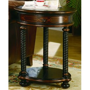 Wescott End Table with Storage by Hooker ..