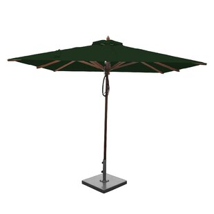 8' Square Market Umbrella by Greencorner