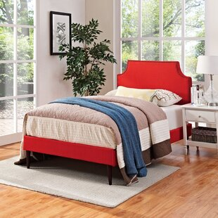 Shop For Ebony Upholstered Platform Bed by Andover Mills Reviews (2019) & Buyer's Guide