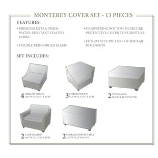 TK Classics Monterey Winter 13 Piece Cove..