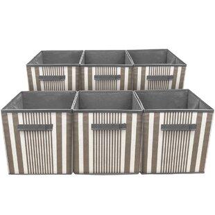Contemporary Foldable Storage Bin (Set of 6)