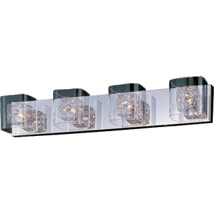 Orren Ellis Butcombe 4-Light Metal Bath Bar
