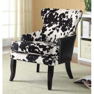 Loon Peak Stuber Wingback Chair
