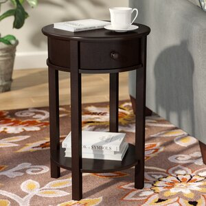 Baltimore End Table With Storage