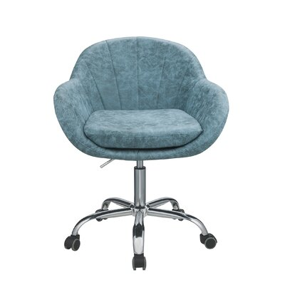 Brayden Studio Curt Task Chair Color: Peacock