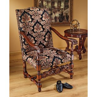 Milton Manor Drawing Room Arm Chair Design Toscano