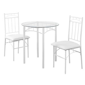 3 Piece Bistro Set by Monarch Specialties Inc.