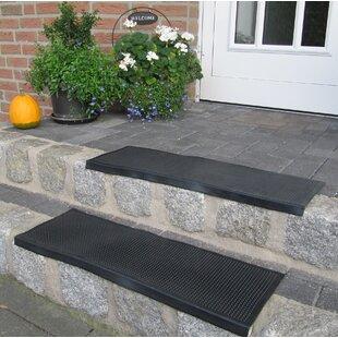Black Stair Tread (Set of 5) by Andiamo