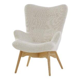 Causey Wingback Chair By Fleur De Lis Living