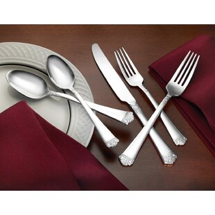 Newcastle 18/10 Stainless Steel 75 Piece Flatware Set Service for 12