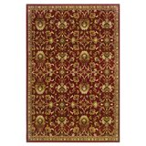 Abell Red/Ivory Area Rug by Fleur De Lis Living
