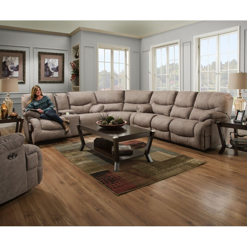 Milena Simmons Reclining Sectional