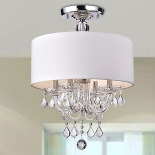 House of Hampton Averill 4-Light Semi-Flush Mount