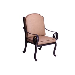Westhampton Patio Dining Chair with Cushion (Set of 2)