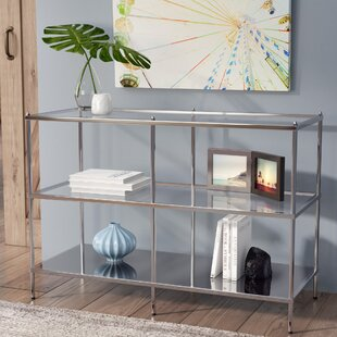 Read Reviews Busey Glam Mirrored Console Table By Latitude Run