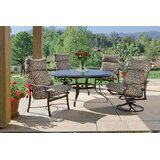Montreux 5 Piece Dining Set with Cushions