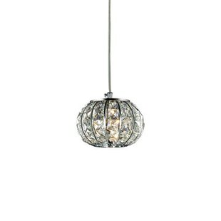 Calypso 1-Light Crystal Pendant by Ideal Lux