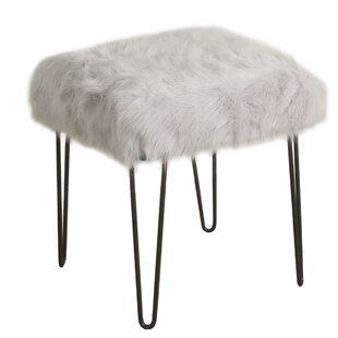 Madore Metal Vanity Stool by Mercer41