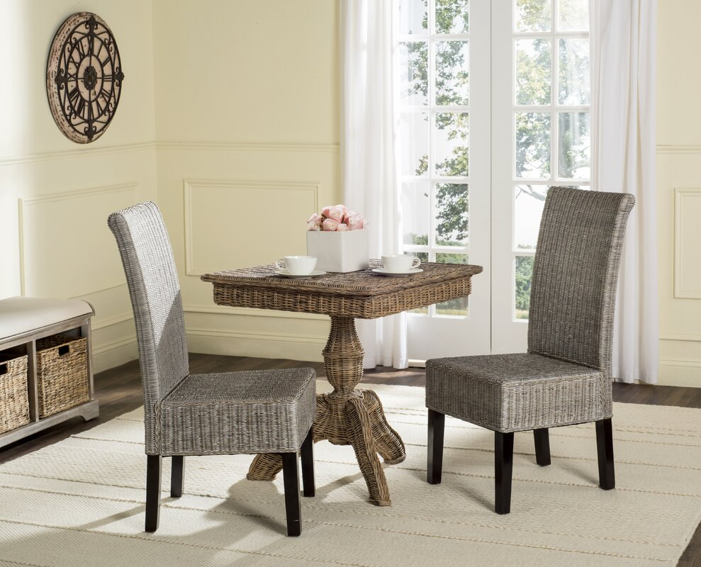 Beachcrest Home Willow Side Chair (Set of 2)