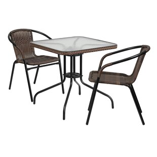 Gingerich 3 Piece Bistro Set