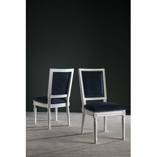 Reviews Battle Upholstered Dining Chair (Set of 2) by House of Hampton Reviews (2019) & Buyer's Guide